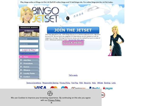 Bingojetset Casino Spel Online