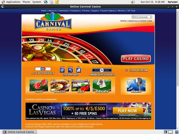 Carnivalcasino Real Money Paypal