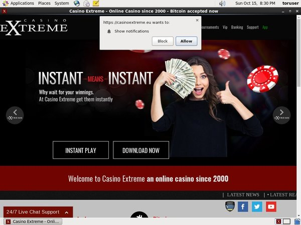 Casinoextreme Offers