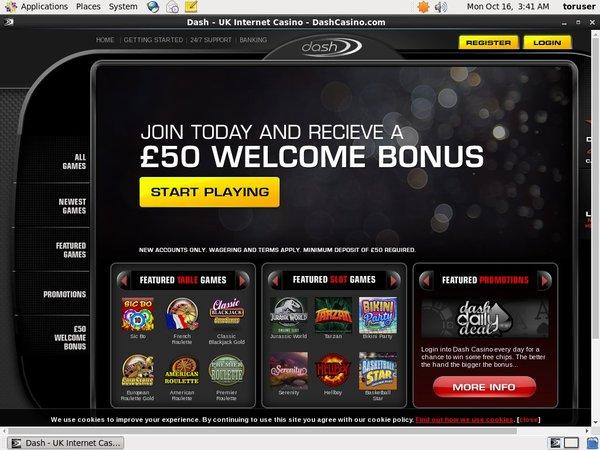 Dash Casino игровые автоматы