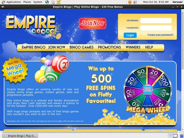 Empirebingo Games And Casino