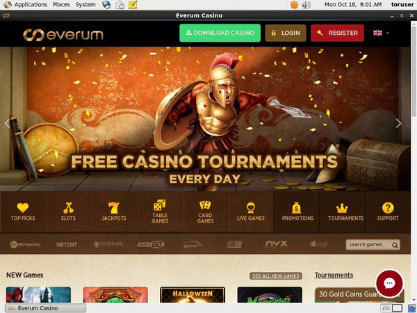 Everum Casino For Iphone