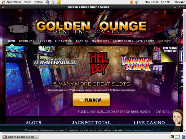 Golden Lounge Slot Machines