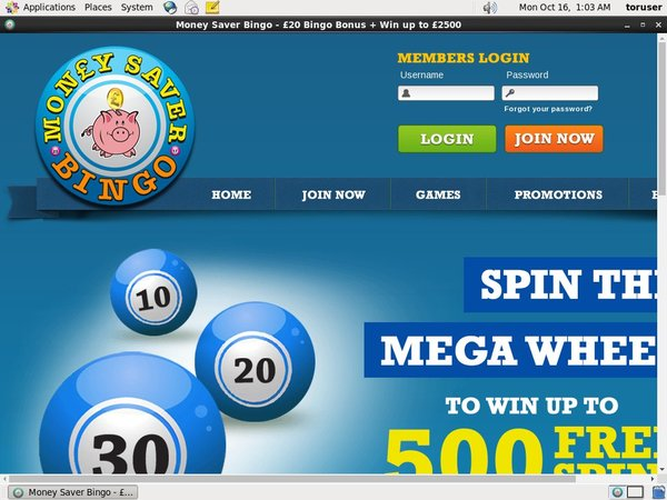 Money Saver Bingo Baccarat Bonus