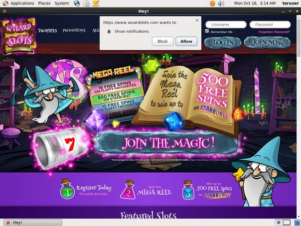 Wizard Slots Special Offers