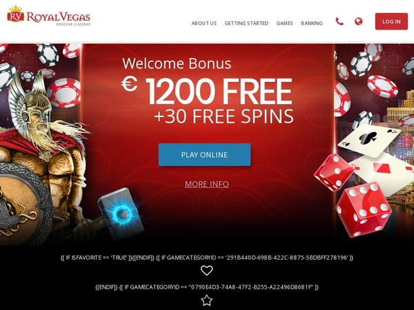 Royal Vegas Casino Discount