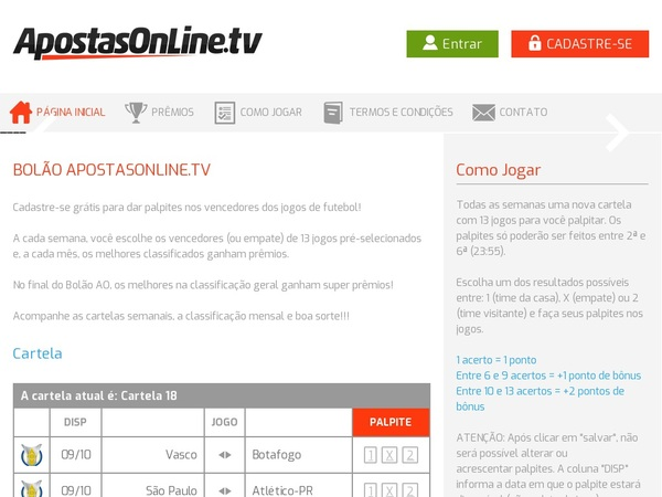 Apostas Online Tv New Customer Offer