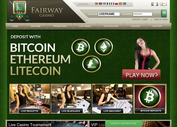 Deposit Bonus Fairway Casino