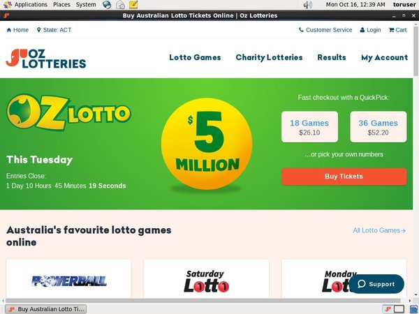 Free Games Ozlotteries