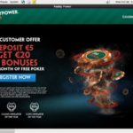 Paddy Power Poker English