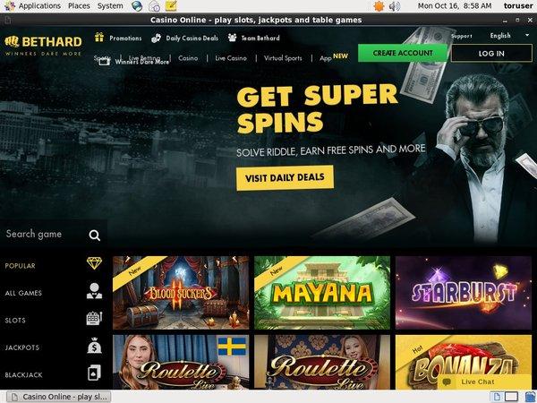 BetHard Casino Upay