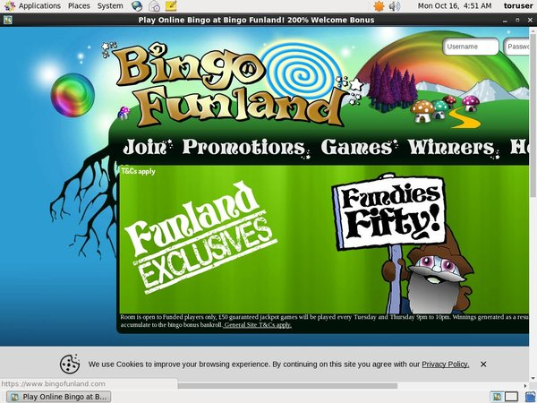 Bingofunland Online Casino Uk