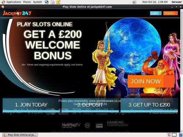Jackpot247 No Deposit Casino