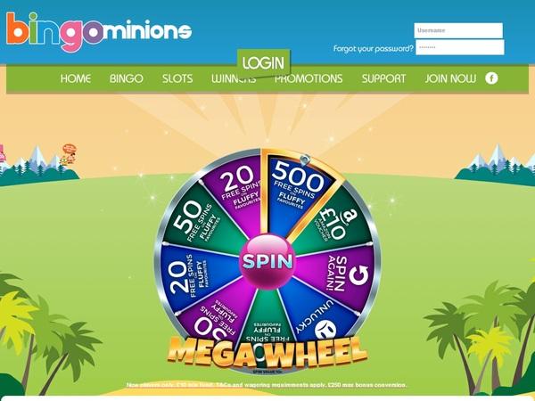 Bingominions Best Slots