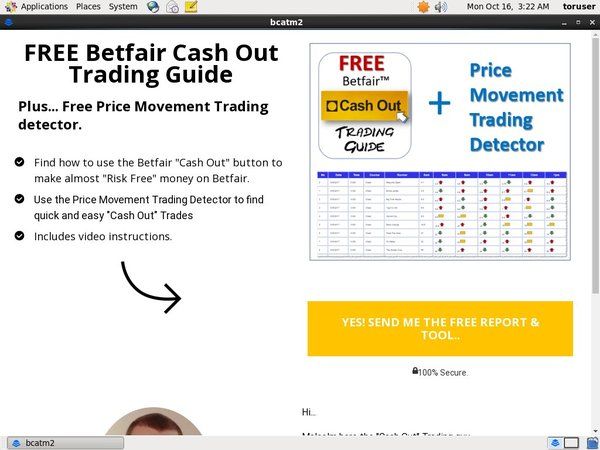 Betfair Cash Out No Deposit Bonus