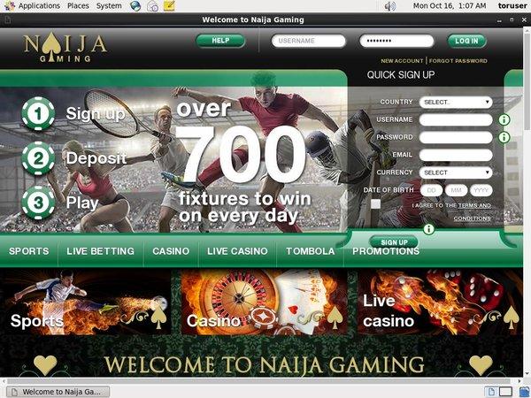 Naija Gaming Pay By Options