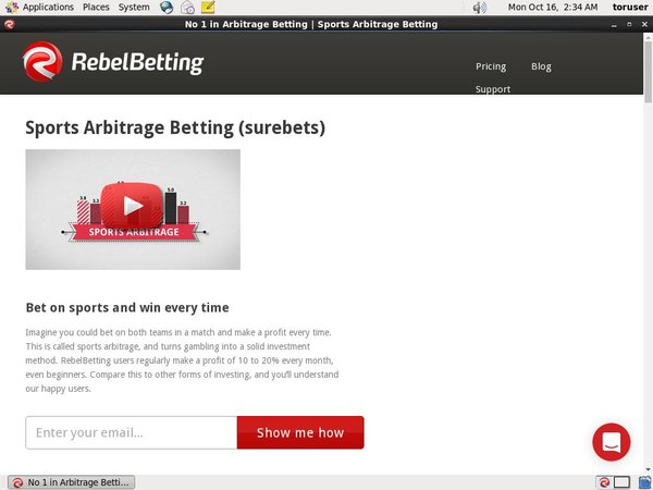 Rebel Betting Promotions