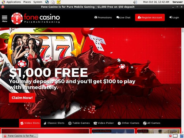 Fone Casino Add Money