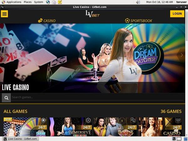 LV Bet Live Online Casino