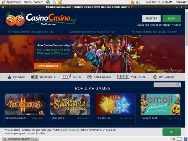 Casino Casino Odds