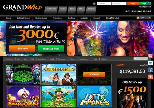 Grand Wild Casino Vip Club
