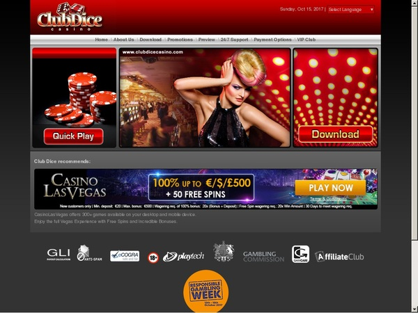 Club Dice Casino Add Money