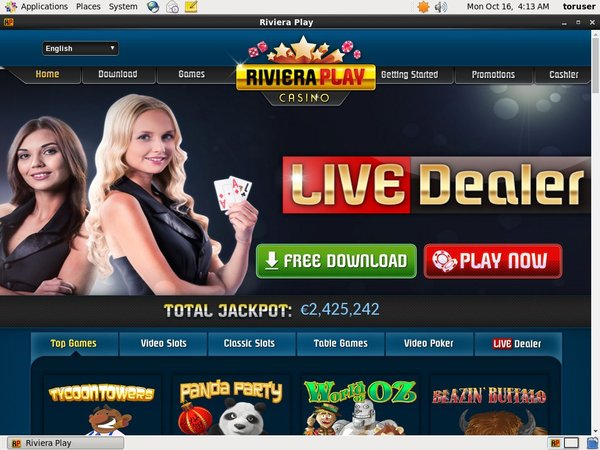Riviera Play Deposit Money