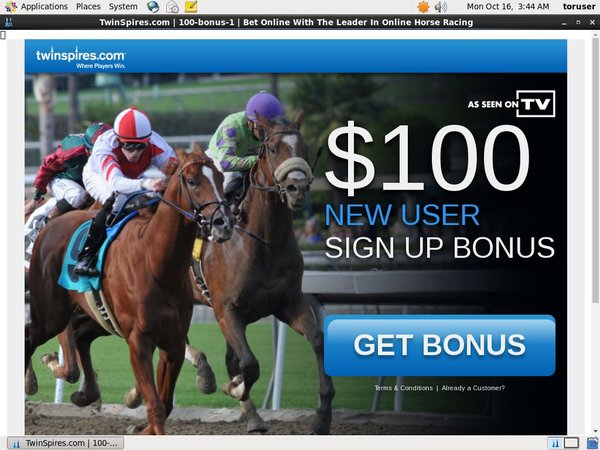 Twin Spires Pay With Paypal