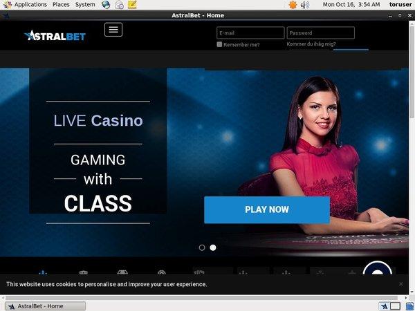Astral Bet Mobile Poker