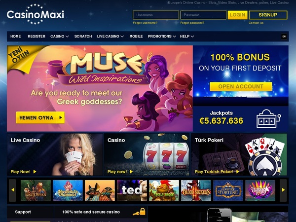 Casino Maxi Blackjack Limit
