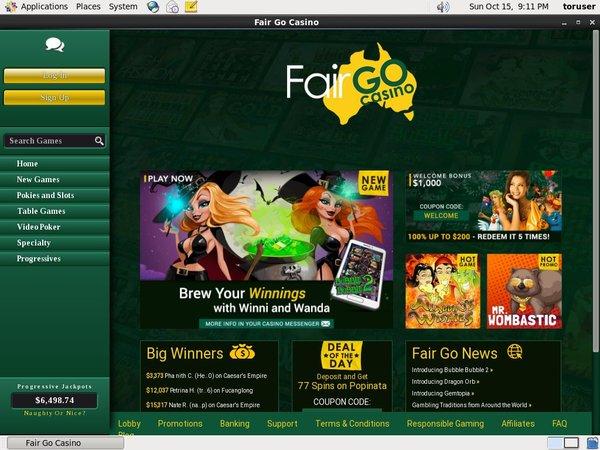 Fair Go Casino Deposit Using Phone